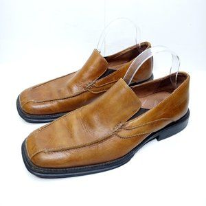 Bostonian Loafers Men Size 9 Leather Brown